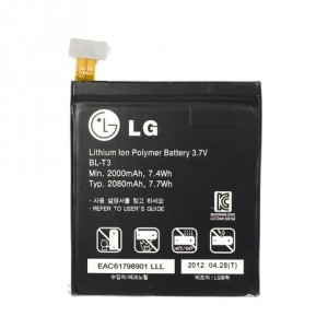 Original LG Akku BL-T3 Optimus Vu P895 2000mAh