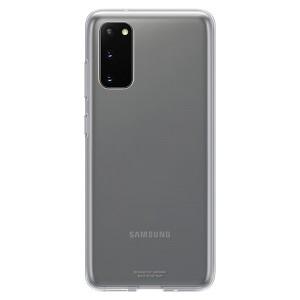 Original Samsung Clear Cover / Hülle EF-QG980TT Galaxy S20 Trensparent