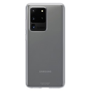 Original Samsung Clear Cover / Hülle EF-QG988TT Galaxy S20 Ultra G988 Trensparent