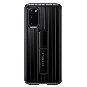 Original Samsung Protective Standing Cover / Hülle EF-RG980CB Galaxy S20 G980 schwarz