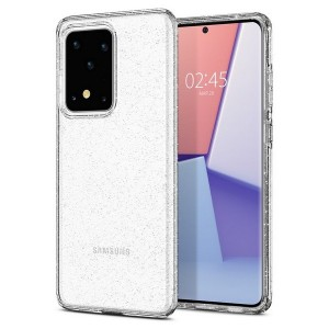 Spigen Core Armor Hülle Samsung Galaxy S20 Ultra Liquid Crystal Glitter