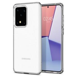 Spigen Core Armor Hülle Samsung Galaxy S20 Ultra Crystal Clear