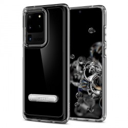 Spigen Ultra Hybrid S Samsung Galaxy S20 Ultra Crystal Clear mit Kickstand