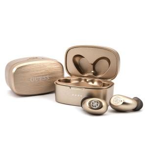 Guess Bluetooth-Kopfhörer GUTW SJL 4 GGO TWS + Dockingstation Gold / Gold 4G