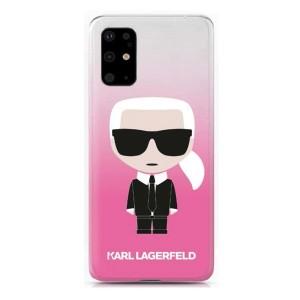 Karl Lagerfeld Hülle Karl Ikonik Samsung Galaxy S20+ Plus Pink KLHCS67TRDFKPI