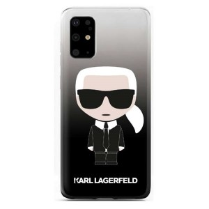 Karl Lagerfeld Ikonik Schutzhülle Samsung Galaxy S20 Ultra Schwarz KLHCS69TRDFKBK