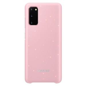 Original Samsung Led Cover / Hülle EF-KG980CP Galaxy S20 Rose
