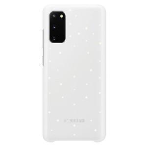 Original Samsung Led Cover / Hülle EF-KG980CW Galaxy S20 Weiß