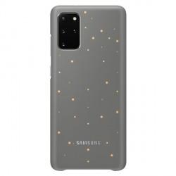 Original Samsung Led Cover / Hülle EF-KG985CJ Galaxy S20+ Plus Grau
