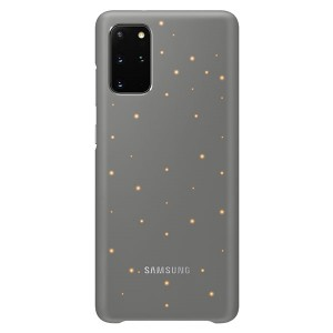 Original Samsung Led Cover / Hülle EF-KG985CJ Galaxy S20+ Plus Grau