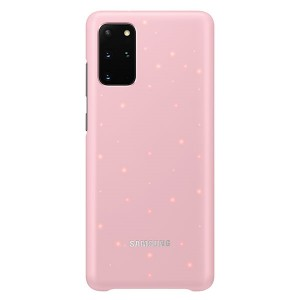 Original Samsung Led Cover / Hülle EF-KG985CP Galaxy S20+ Plus Rose