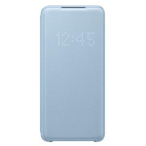 Original Samsung Tasche Galaxy S20 LED View Cover Blau EF-NG980PL