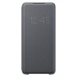 Original Samsung Tasche Galaxy S20+ Plus LED View Cover Grau EF-NG985PJ