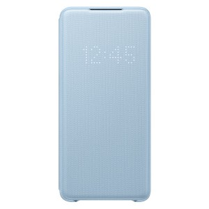 Original Samsung Tasche Galaxy S20+ Plus LED View Cover Blau EF-NG985PL