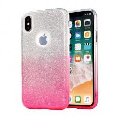 Glitzern Schutzhülle Samsung Galaxy S20 pink