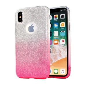 Glitzern Schutzhülle Samsung Galaxy S20+ Plus pink