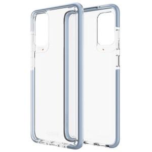 Gear4 D3O Piccadilly Hülle Samsung Galaxy S20 Transparent / Blau