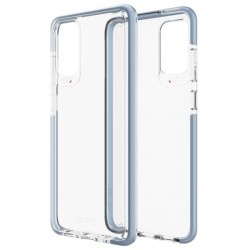 Gear4 D3O Piccadilly Hülle Samsung Galaxy S20+ Plus Transparent / Blau