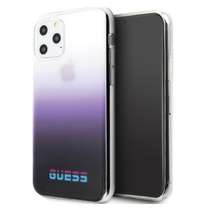 Guess Gradient California Hülle / Cover iPhone 11 lila GUHCN61DGCPU