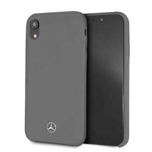 Mercedes Silikon Hülle iPhone XR Grau MEHCI61SILGR