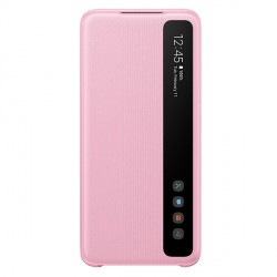 Samsung Tasche EF-ZG980CP Galaxy S20 pink Clear View Cover
