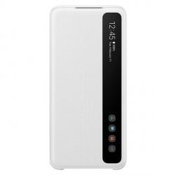 Samsung Tasche EF-ZG980CW Galaxy S20 weiß Clear View Cover