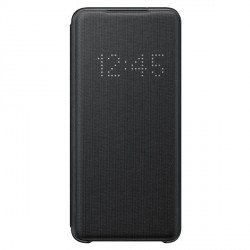 Samsung Tasche LED View Cover Galaxy S20 schwarz EF-NG980PB