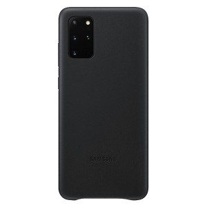 Samsung Lederhülle Galaxy S20+ Plus Leather Cover Schwarz EF-VG985LB
