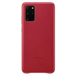 Samsung Lederhülle Galaxy S20+ Plus Leather Cover Rot EF-VG985LR