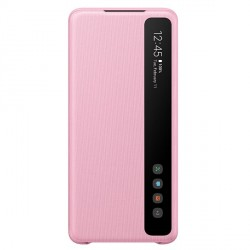 Samsung Tasche Clear View Cover Galaxy S20+ Plus Pink EF-ZG985CP