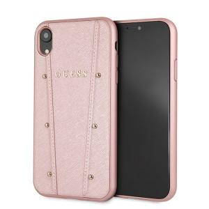 Guess Kaia Saffiano Hülle iPhone Xr Roségold GUHCI61KAILRG
