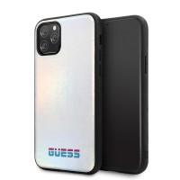 Guess Iridescent Hülle iPhone 11 Pro Silber GUHCN58BLD