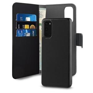 Puro Samsung S20 Wallet Book Handytasche + Hülle 2in1 Schwarz