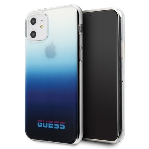 Guess Gradient California Hülle / Cover iPhone 11 Blau GUHCN61DGCNA