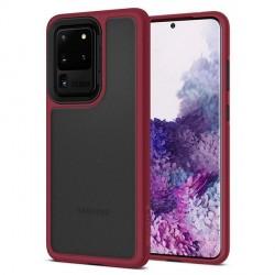 Spigen Ciel Samsung S20 Ultra burgundy Case Cover Hülle