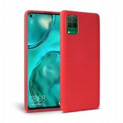 Icon Tech-Protect Hülle Huawei P40 Lite Innenfutter Rot