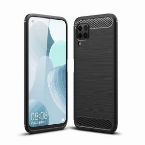 Tech-Protect Carbon Hülle Huawei P40 Lite schwarz