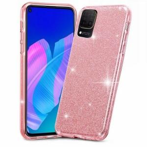 Tech-Protect Hülle Huawei P40 Lite Glitter pink