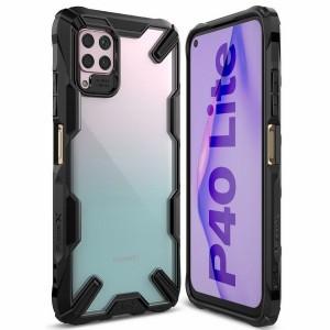 Ringke Fusion X Hülle Huawei P40 lite schwarz