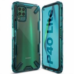 Ringke Fusion X Hülle Huawei P40 lite turquoise grün