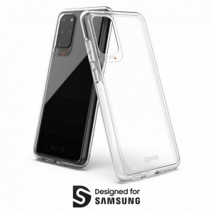 Gear4 Samsung S20+ G985 Crystal Palace D30 Schutzhülle Transparent