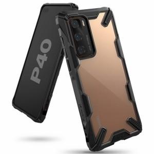 Ringke Fusion X Huawei P40 Hülle schwarz