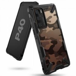 Ringke Fusion X Huawei P40 Hülle camo schwarz