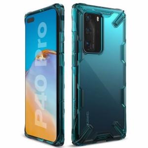Ringke Fusion X Hülle Huawei P40 Pro turquoise grün