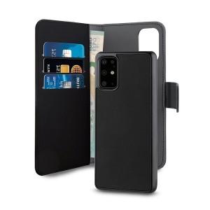 Puro Huawei P40 Wallet Book Handytasche + Hülle 2in1 Schwarz