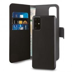Puro Wallet Book Tasche + Hülle 2in1 Huawei P40 Pro Schwarz