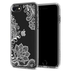 Spigen Ciel Hülle iPhone SE 2020 / iPhone 8 / 7 White Mandala