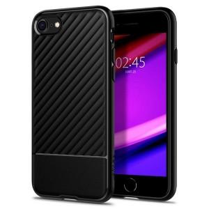 Spigen Core Armor Hülle iPhone SE 2020 / iPhone 8 / 7 schwarz