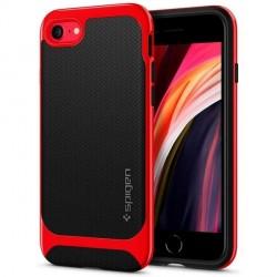 Spigen Neo Hybrid Hülle iPhone SE 2020 / iPhone 8 / 7 Dante Rot