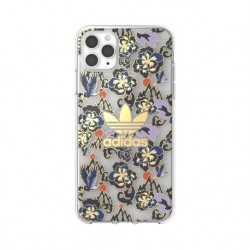 Adidas iPhone 11 Pro Max Hülle / Case OR Clear CNY AOP blau Gold